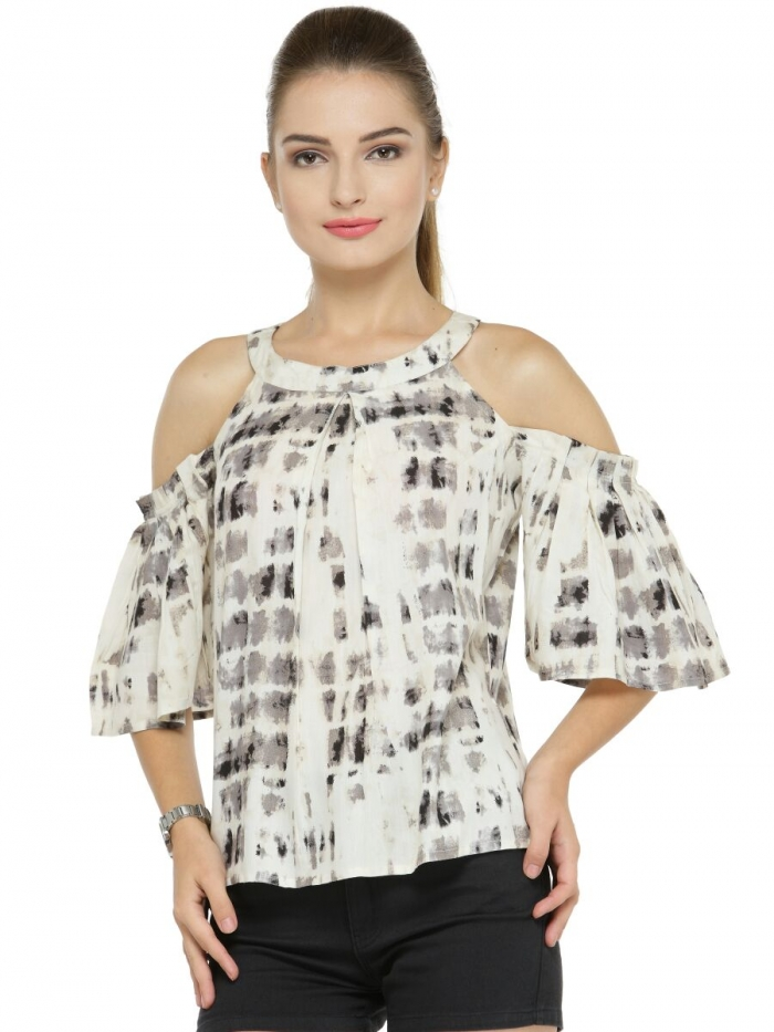 d409e85185 Western Designer Rayon Tops for Women - Stocklots and Traders