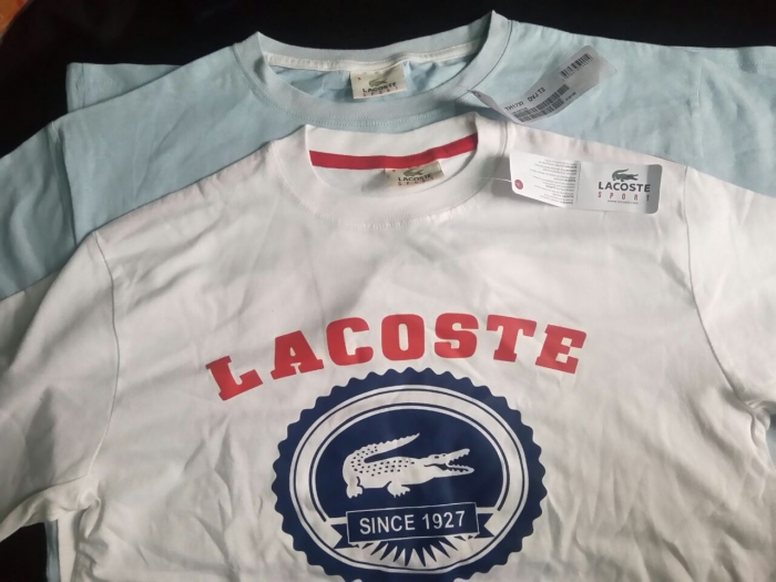 9bb2f3975f4 Lacoste t shirts - Stocklots and Traders